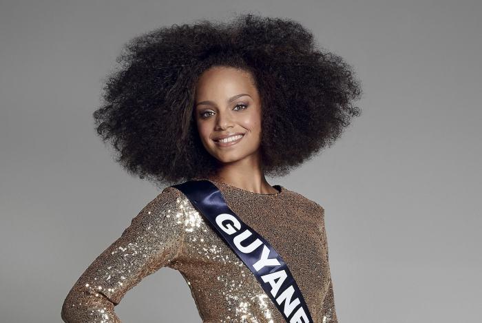 Alicia Aylies, Miss Guyane 2016 photo l'Express