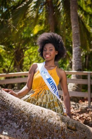 Ramatou Radjabo, Miss Mayotte 2015 Photo Miss et cie